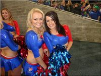 Newcastle knights cheerleader