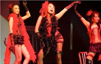 """Performing to """"Lady Marmalade'"""