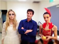 'The Firebird', with Ghost and dance cast Astor Theatre