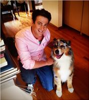 With Leo RSPCA commercial star