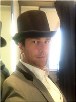 late 2013 Domenica Victorian Dandy w hat