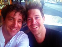 Actors Equitey Dinner late 2013 with Eddie Perfect