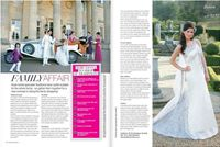Kim Calera in Asiana Wedding Magazine fashion editorial spread