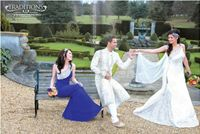 Kim Calera Asiana Wedding Magazine fashion editorial spread