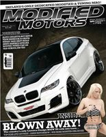 Front cover of Modified Motors magazine