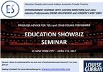 EDUCATION SHOWBIZ WITH LONDON/LA LEADING CASTING DIRECTORS