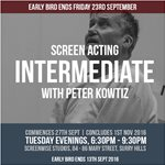 Screen Acting Intermediate Course