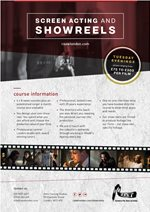 Showreels and Screen Acting - RAaW London