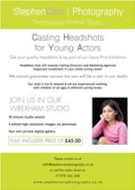 Casting Headshots for Young Actors