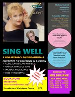 AMAZING SING WELL WORKSHOPS