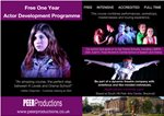 Peer Productions - Free Actor Development Programme