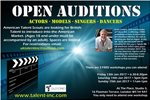 OPEN CASTING CALL FOR MODELS, ACTORS, SINGERS AND DANCERS AGES 4-99