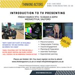 An Introduction to Television Presenting at MediaCityUK (Salford)