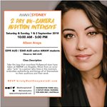 ACTORS WANTING TO WORK IN VANCOUVER- AMAW WORKSHOP