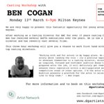 Casting Workshop with Ben Cogan
